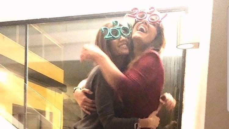 Sara Carbonero e Isabel Jiménez despidiendo el año 2019 juntas/ Foto: Instagram