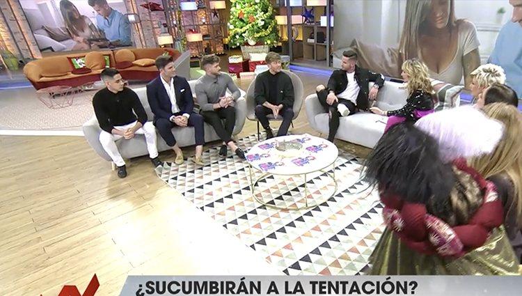 Los concursantes de 'La isla de las tentaciones'| Foto: Telecinco.es