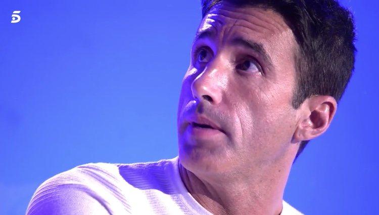 Hugo Sierra en 'Sálvame'|Foto: telecinco.es
