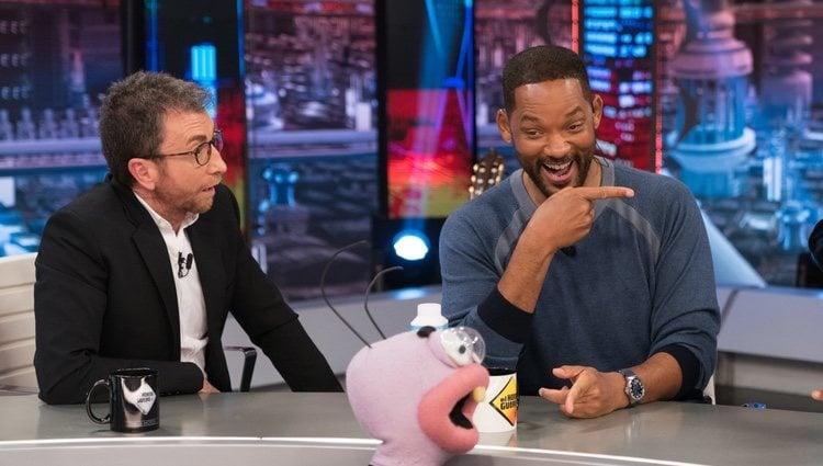 Will Smith con Pablo Motos en 'El Hormiguero'/ Foto: Antena 3