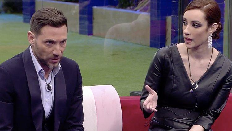 Adara y Antonio David en 'El tiempo del descuento'| Foto: Telecinco.es