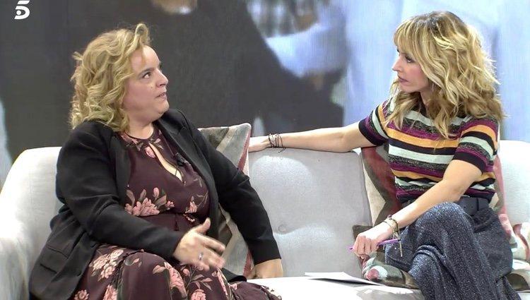 Clara Tena habla en 'Viva la vida'   Foto: telecinco.es