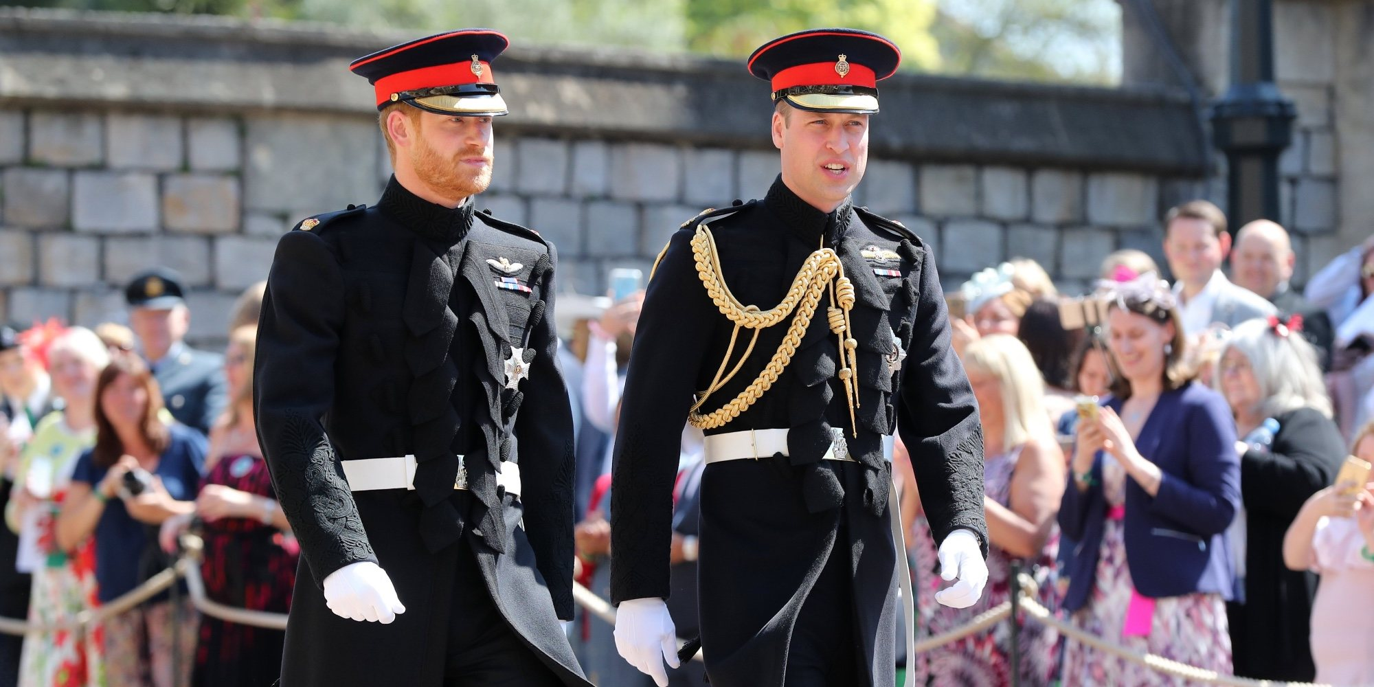 La falsa pelea de los Príncipes Guillermo y Harry en el partido de polo que unió a Kate Middleton y Meghan Markle
