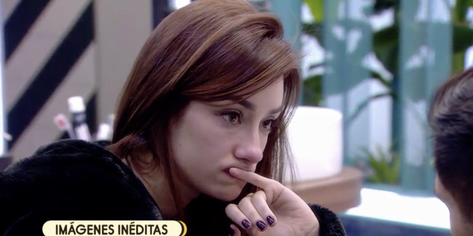 """Adara recrimina a Gianmarco que ligara con su madre: """"Se tuvo que echar para atrás"""""""