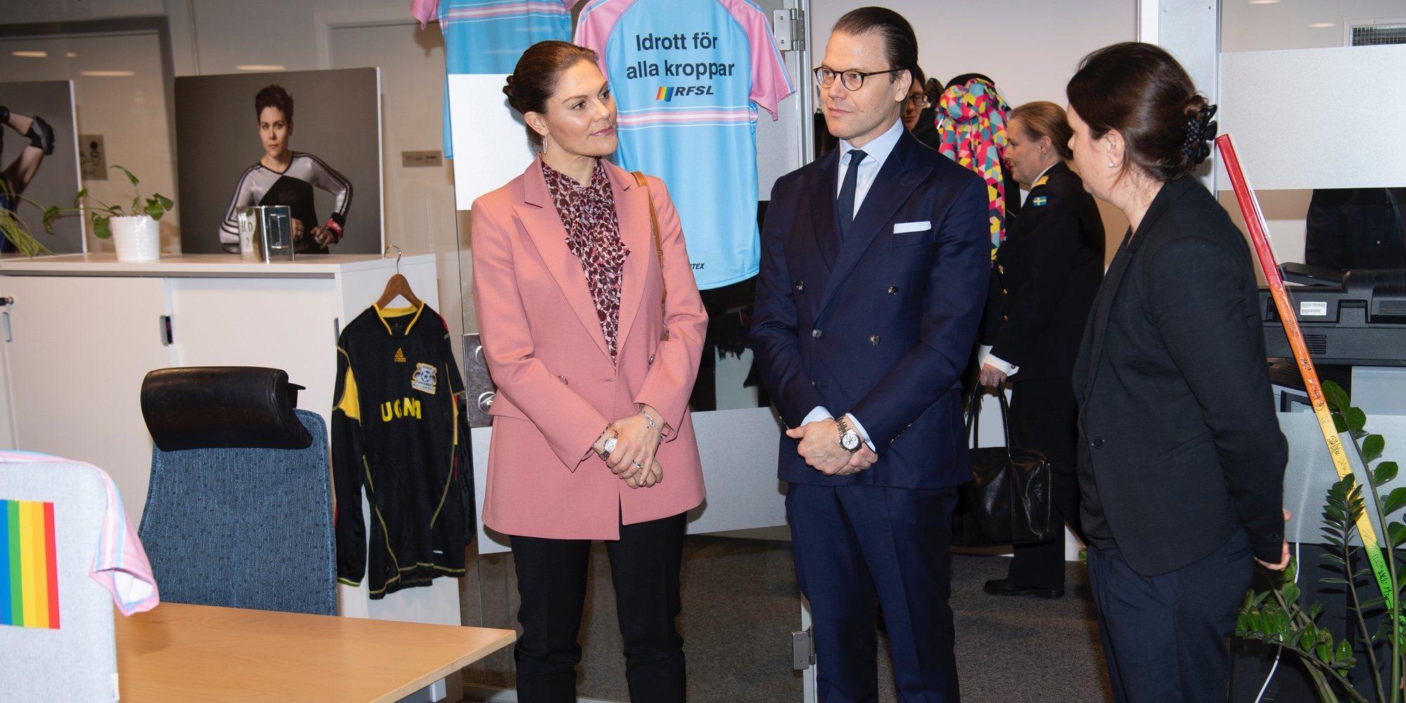 El compromiso de Victoria y Daniel de Suecia con el colectivo LGTBIQ+ del que deberían aprender otras Casas Reales