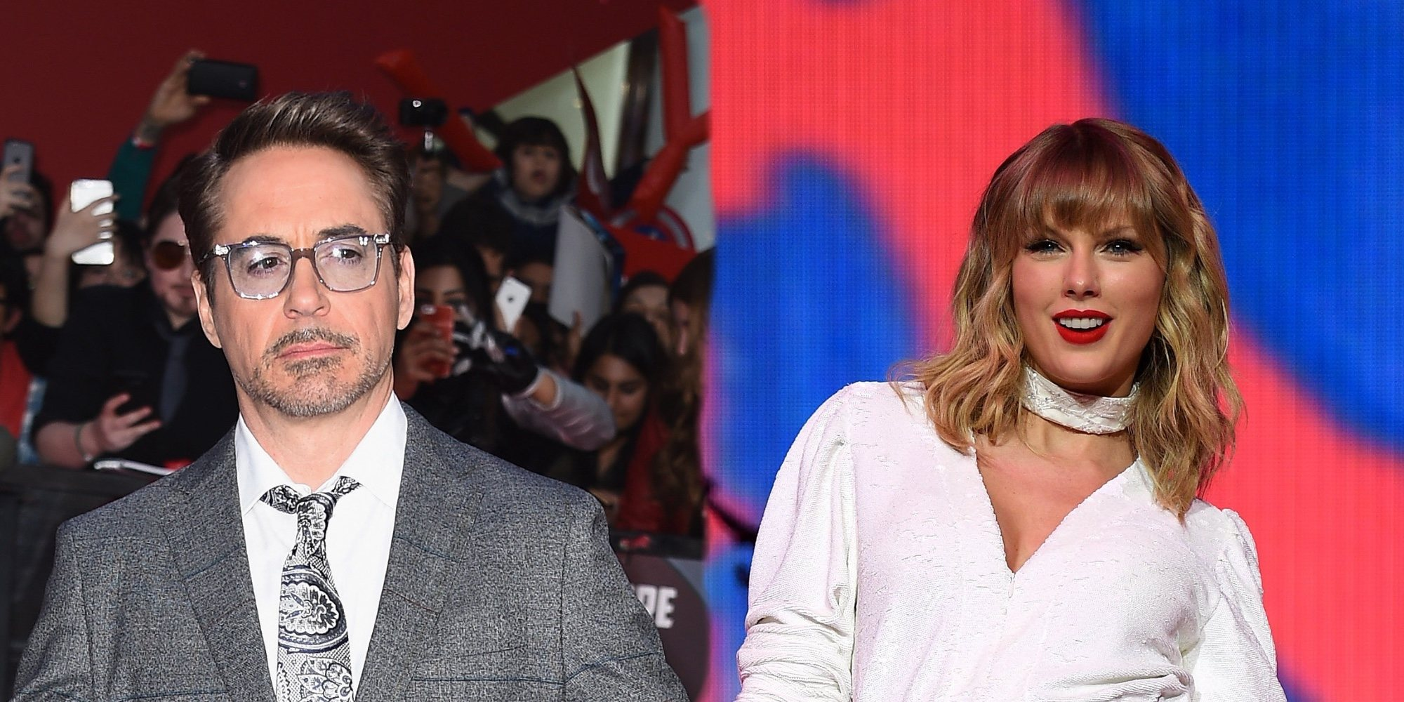 Robert Downey Jr. hace una broma sobre Taylor Swift y sus exnovios que enfada a los fans de la cantante