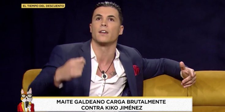 """Las duras palabras de Kiko Jiménez sobre Maite Galdeano en 'El tiempo del descuento': """"Da vergüenza ajena"""""""
