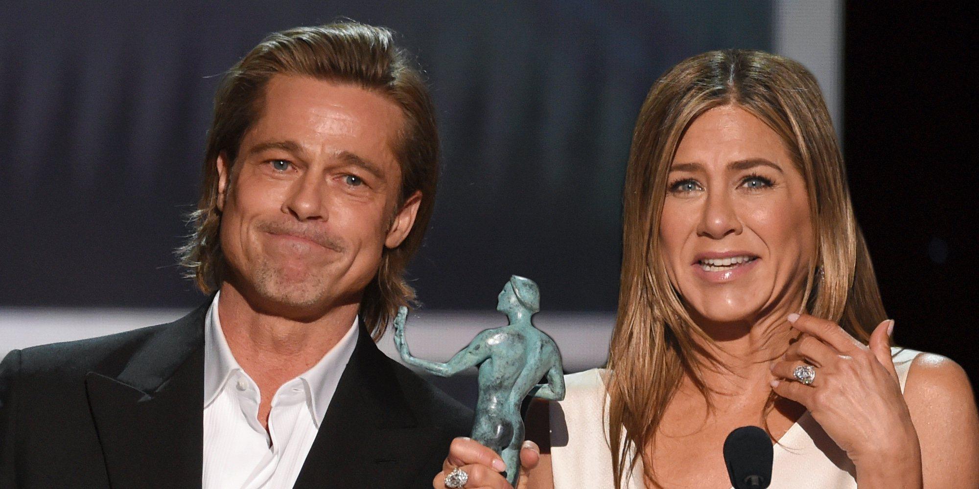 Así ha sido el esperado reencuentro de Jennifer Aniston y Brad Pitt en unos premios tras 15 años de su divorcio