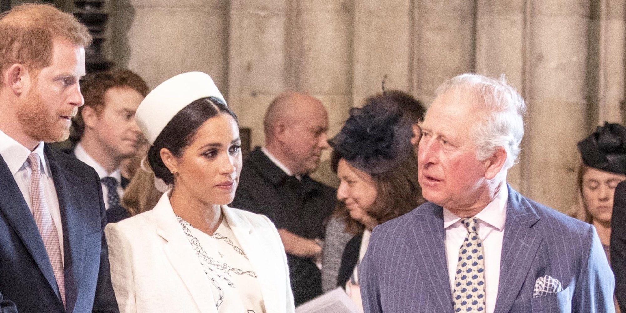 El plan del Príncipe Carlos para ayudar al Príncipe Harry y Meghan Markle tras el Megxit a pesar de su decepción
