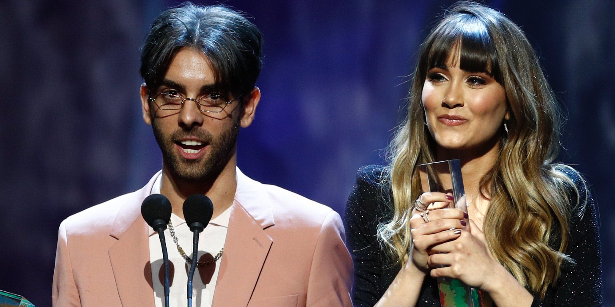 Aitana, Alejandro Sanz y Don Patricio, entre los ganadores de los premios Odeón 2020