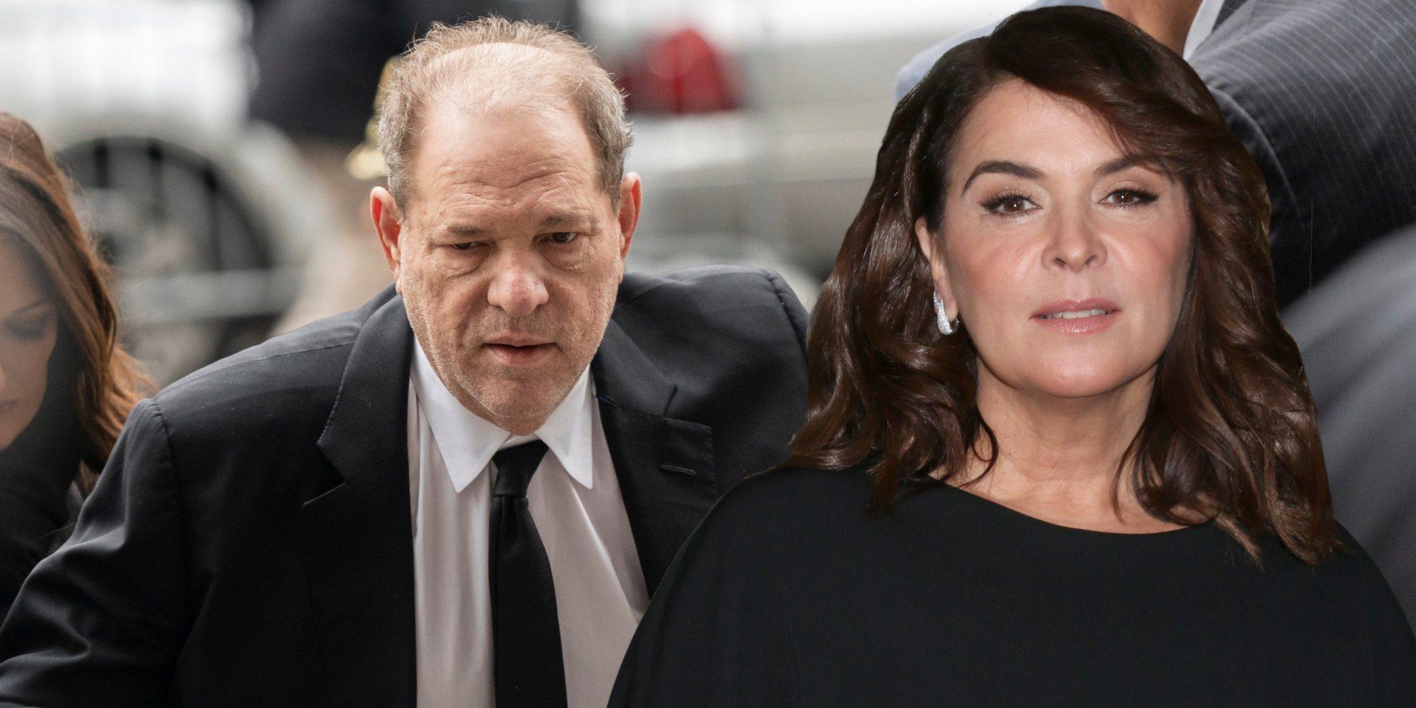 """Annabella Sciorra relata en el juicio cómo fue violada por Harvey Weinstein: """"Pensé que me daba un ataque"""""""
