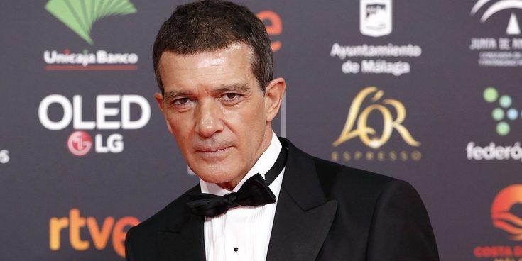 """Antonio Banderas, Goya 2020 a Mejor Actor: """"Hoy hace 3 años que sufrí un ataque al corazón. Estoy y me siento vivo"""""""