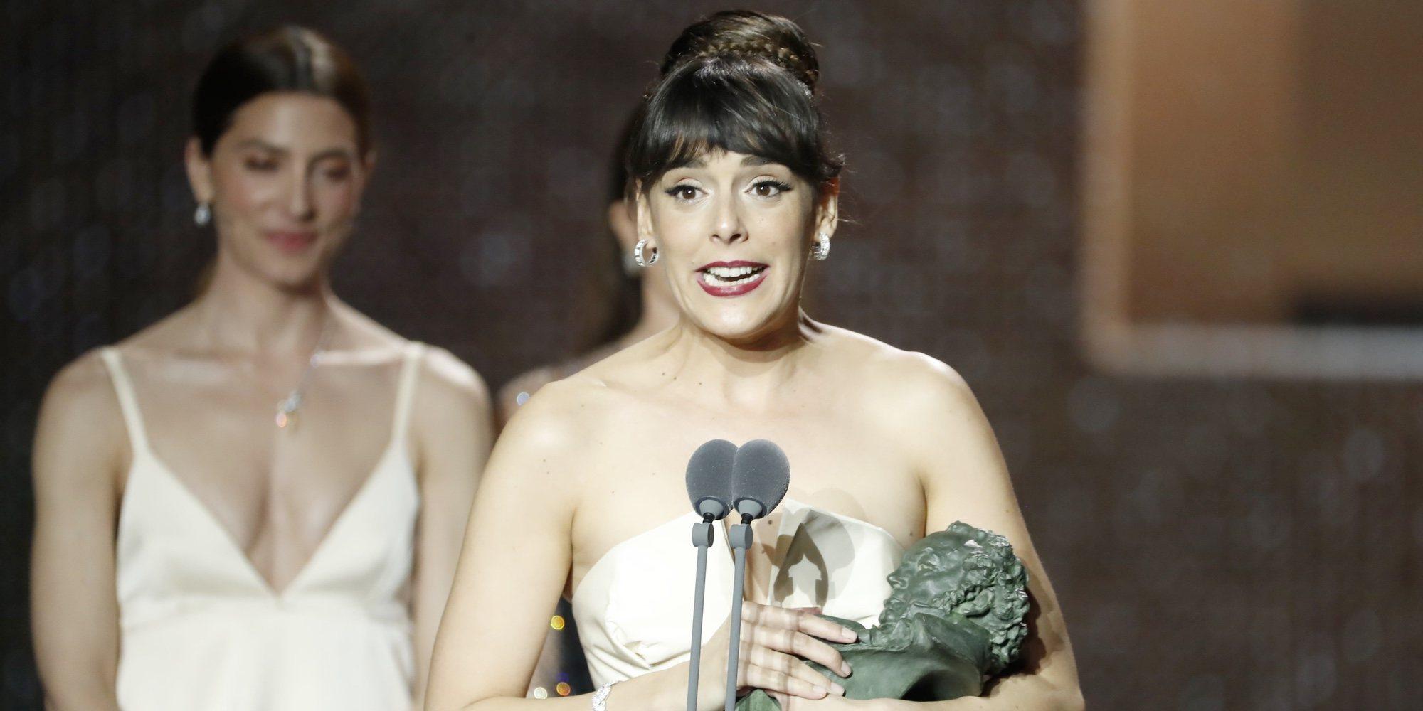 """Belén Cuesta, Goya 2020 a Mejor Actriz: """"Gracias a Antonio de la Torre y al amor de mi vida, Tamar Novas"""""""