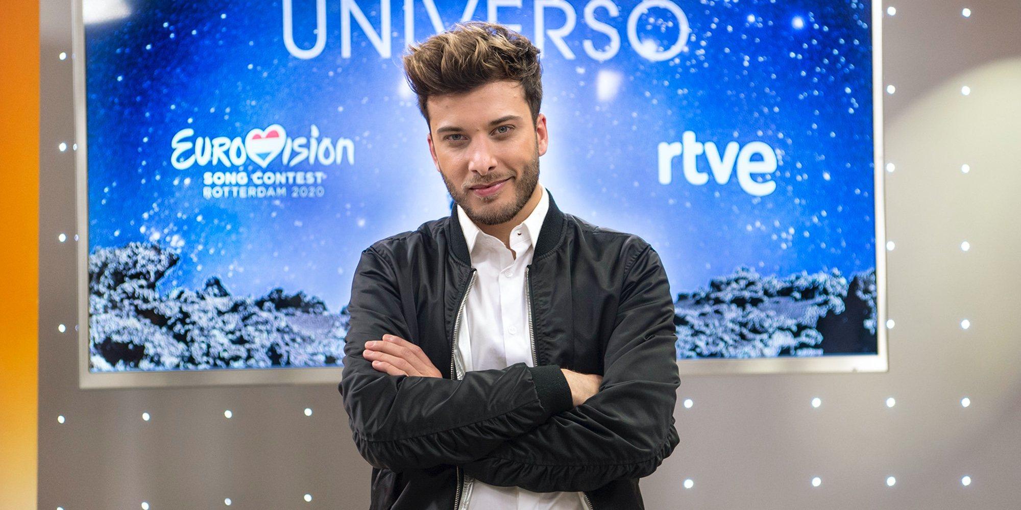"""Blas Cantó, de 'Universo' y Eurovisión 2020: """"Tengo alguna idea para la puesta en escena pero nada decidido"""""""
