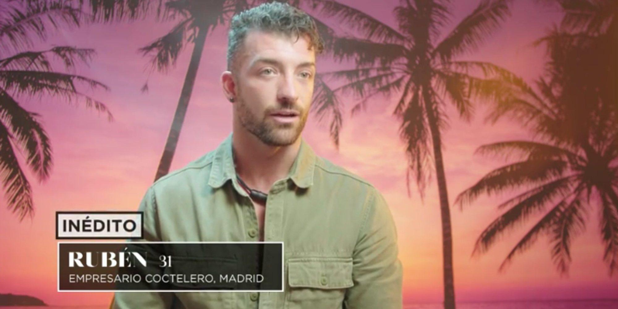 """Rubén, preocupado por el encuentro de Fani y Christofer en 'La isla de las tentaciones': """"No quiero que te vayas"""""""