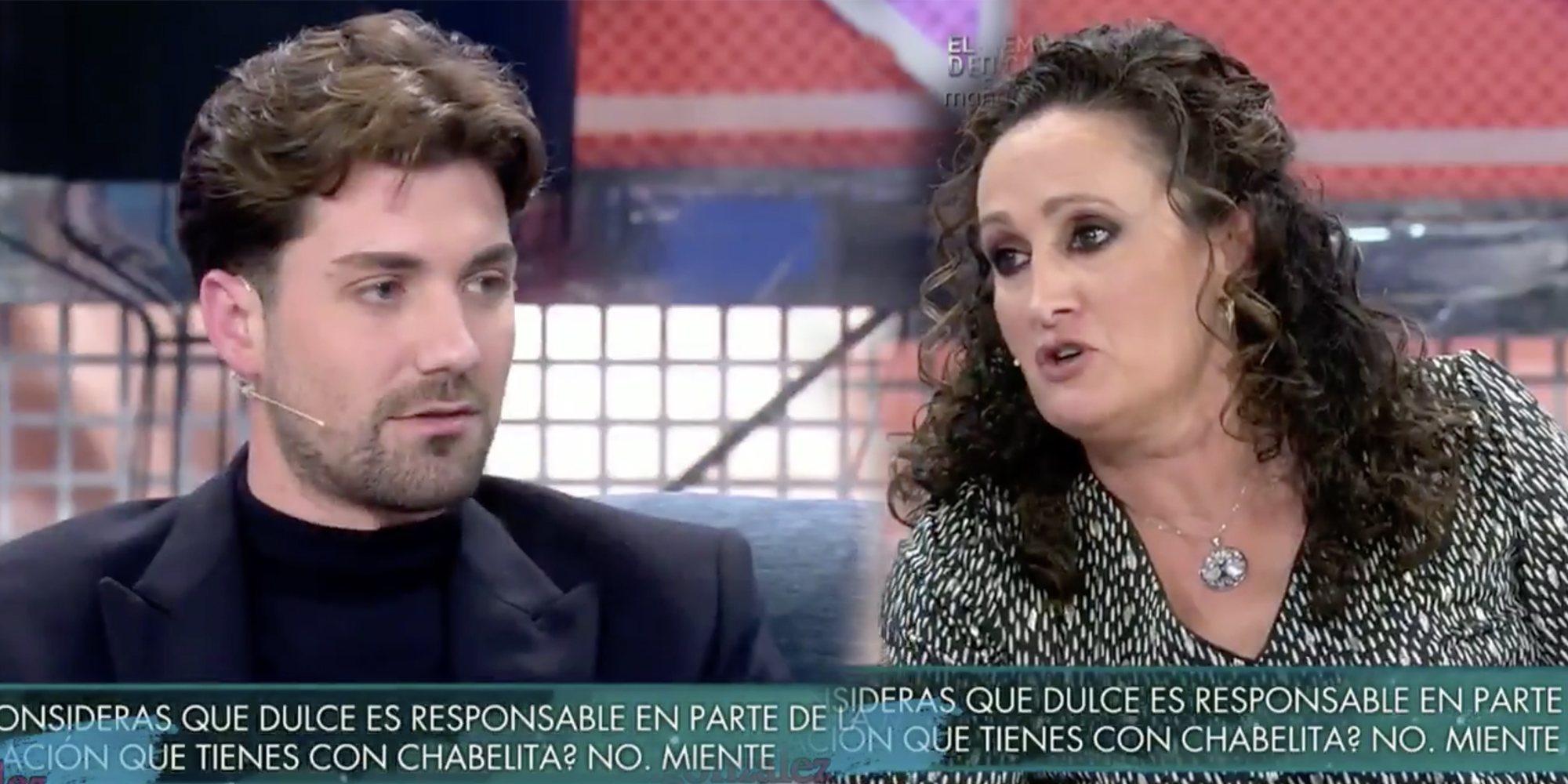 Dulce y Alejandro Albalá, enfrentados en el polígrafo de 'Sábado Deluxe' por los secretos de los Pantoja