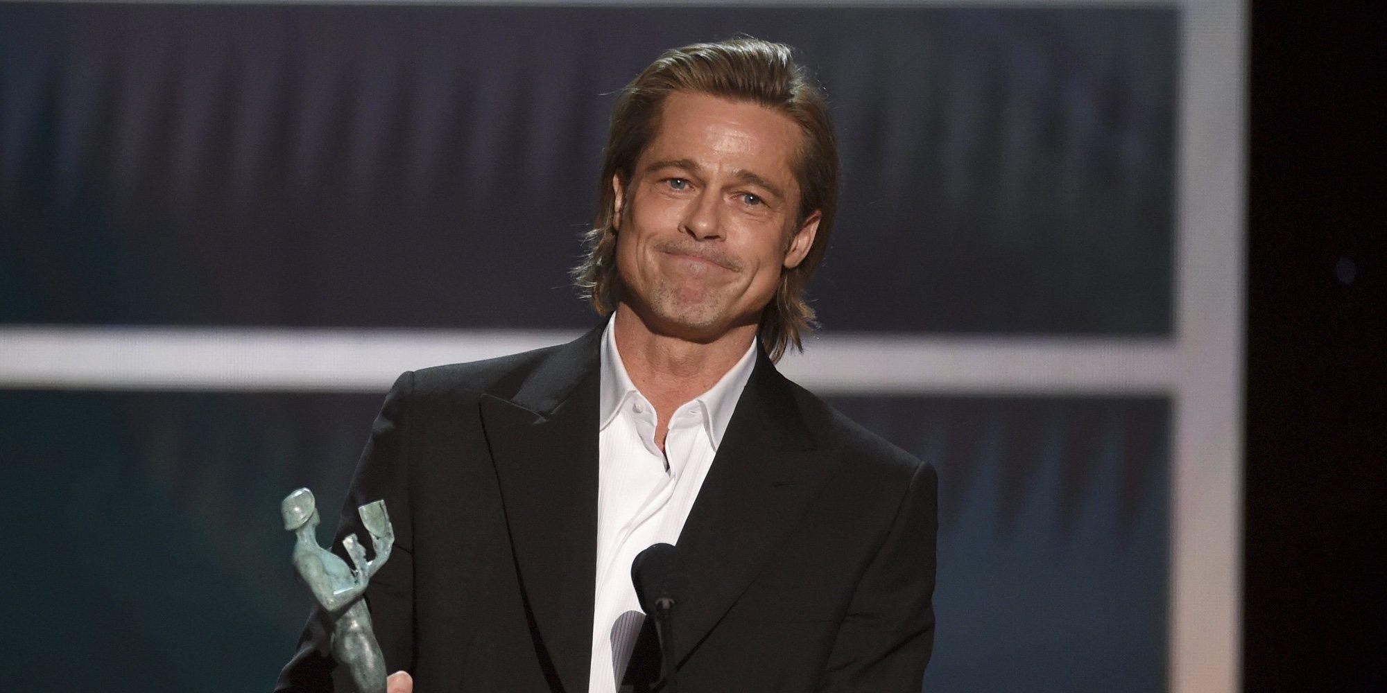 Brad Pitt bromea sobre el Megxit en los BAFTA 2020 delante del Príncipe Guillermo y Kate Middleton