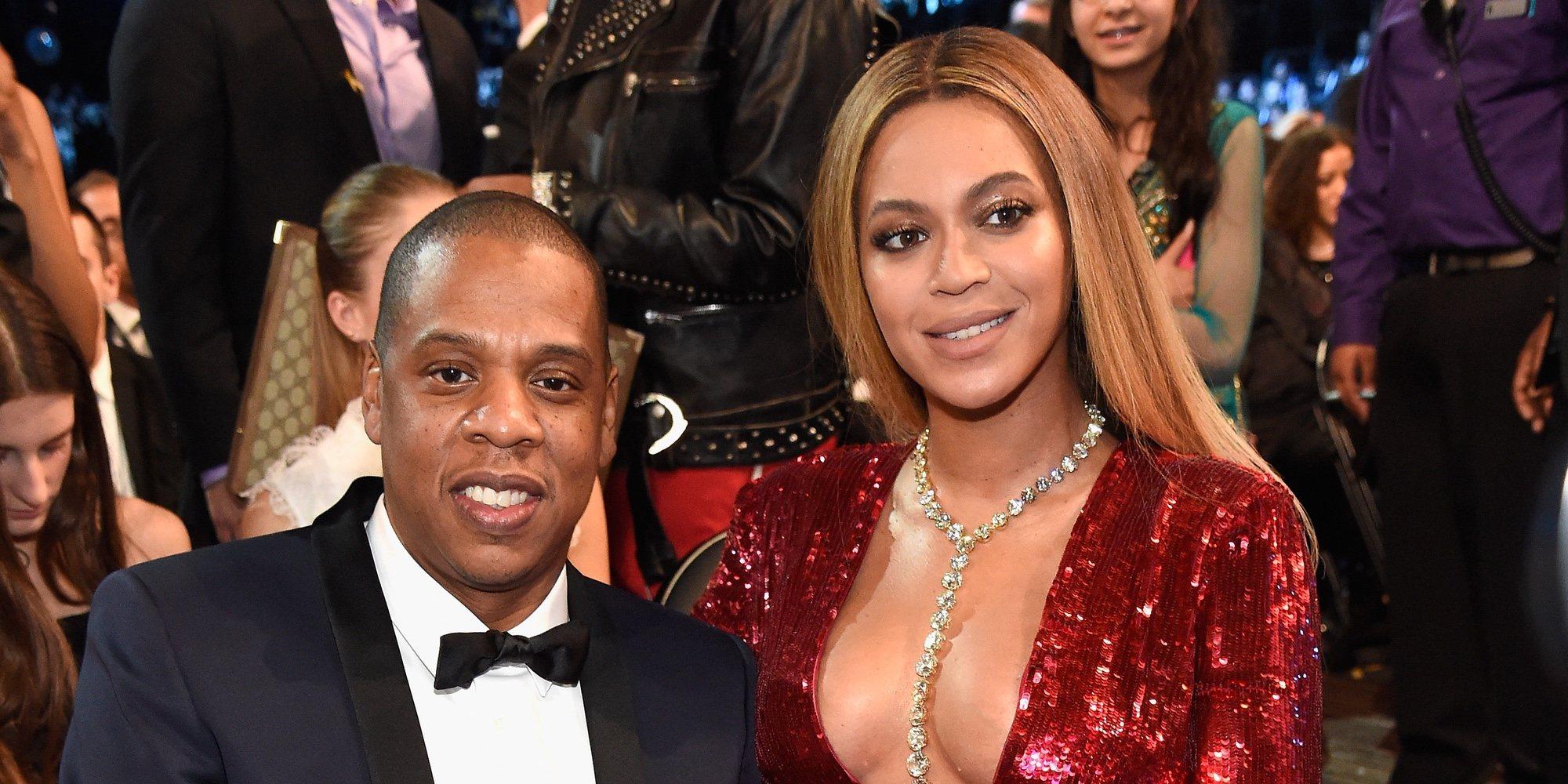 Beyonce y Jay-Z no se levantaron de su asiento durante el himno nacional en la Super Bowl 2020