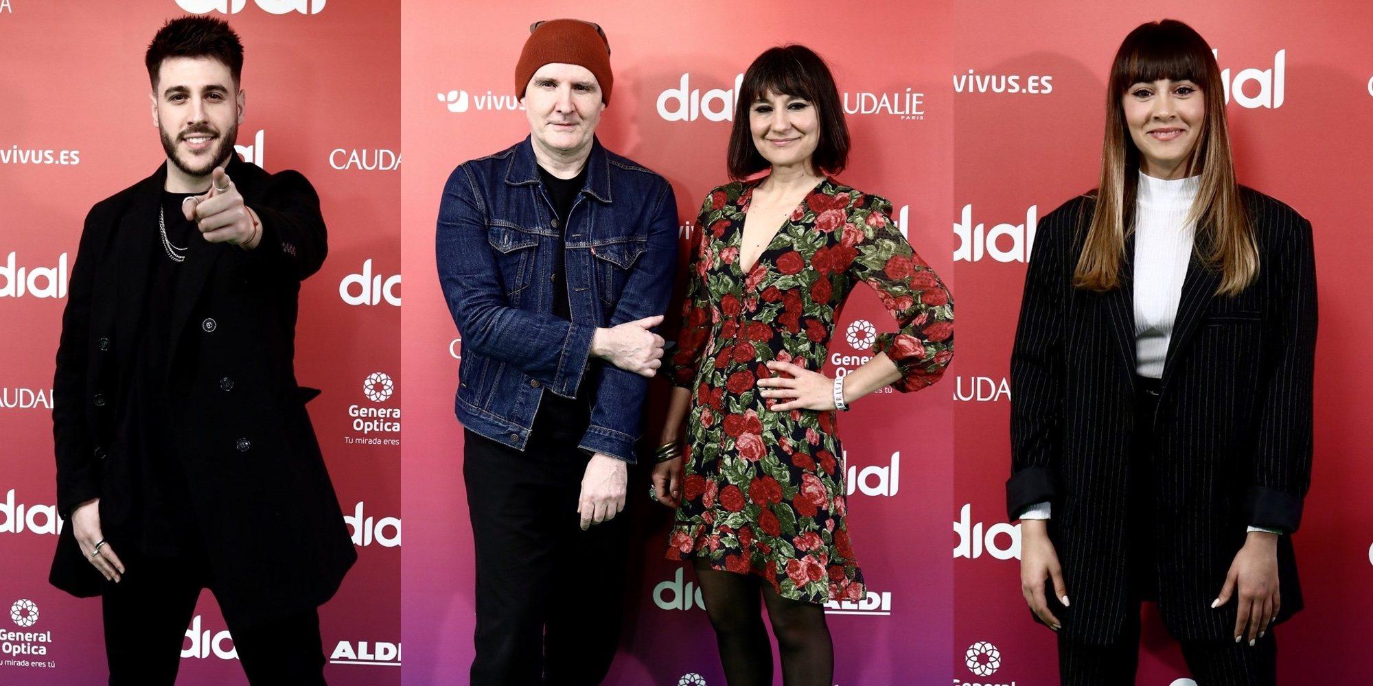 Aitana, Antonio José y Amaral, entre los galardonados con los Premios Cadena Dial 2020