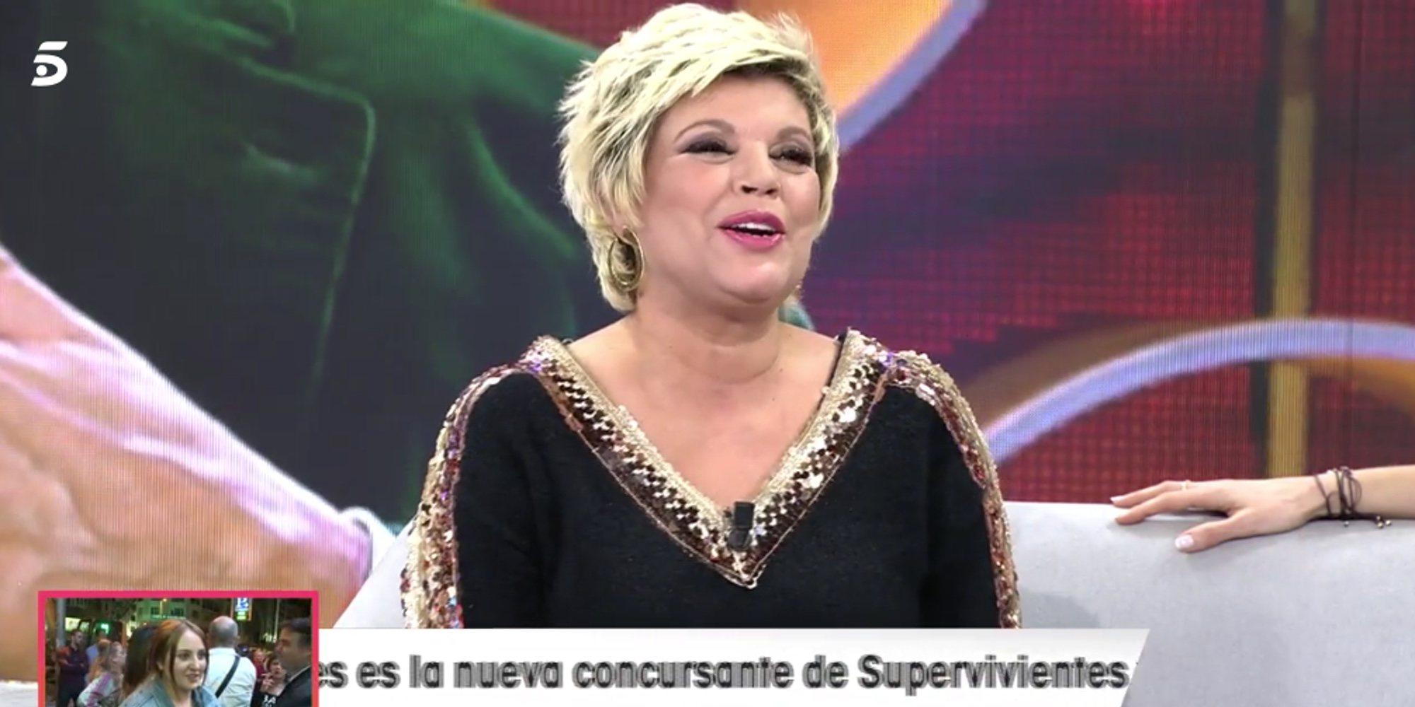 La reacción de Terelu Campos ante la pelea televisiva de su hija Alejandra Rubio con Kiko Matamoros