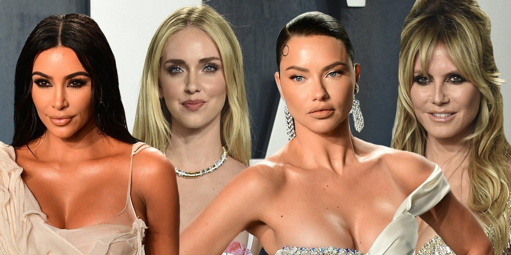 Kim Kardashian, Chiara Ferragni, Adriana Lima, Heidi Klum... así ha sido la fiesta Vanity Fair de los Oscar 2020