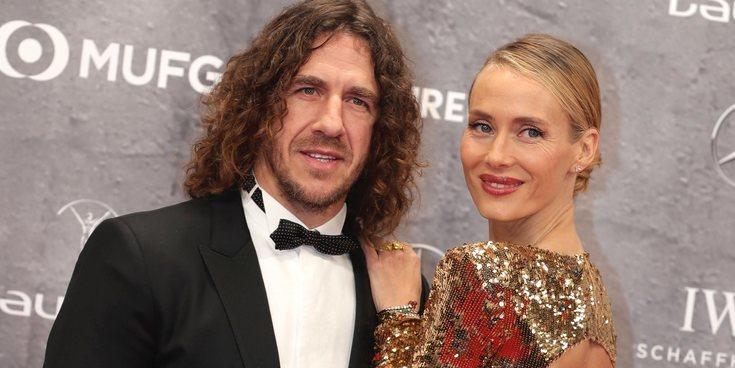 Carles Puyol y Vanesa Lorenzo, unos de los protagonistas de los Premios Laureus 2020