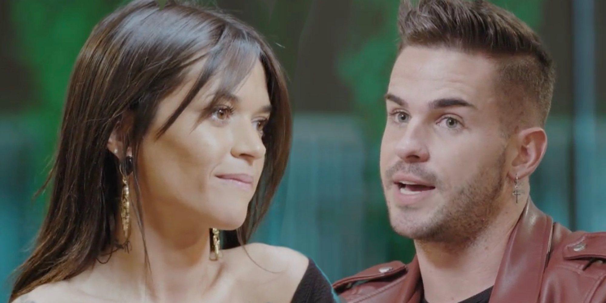 El tenso reencuentro de Álex y Fiama en 'La isla de las tentaciones' tras desvelar su ruptura