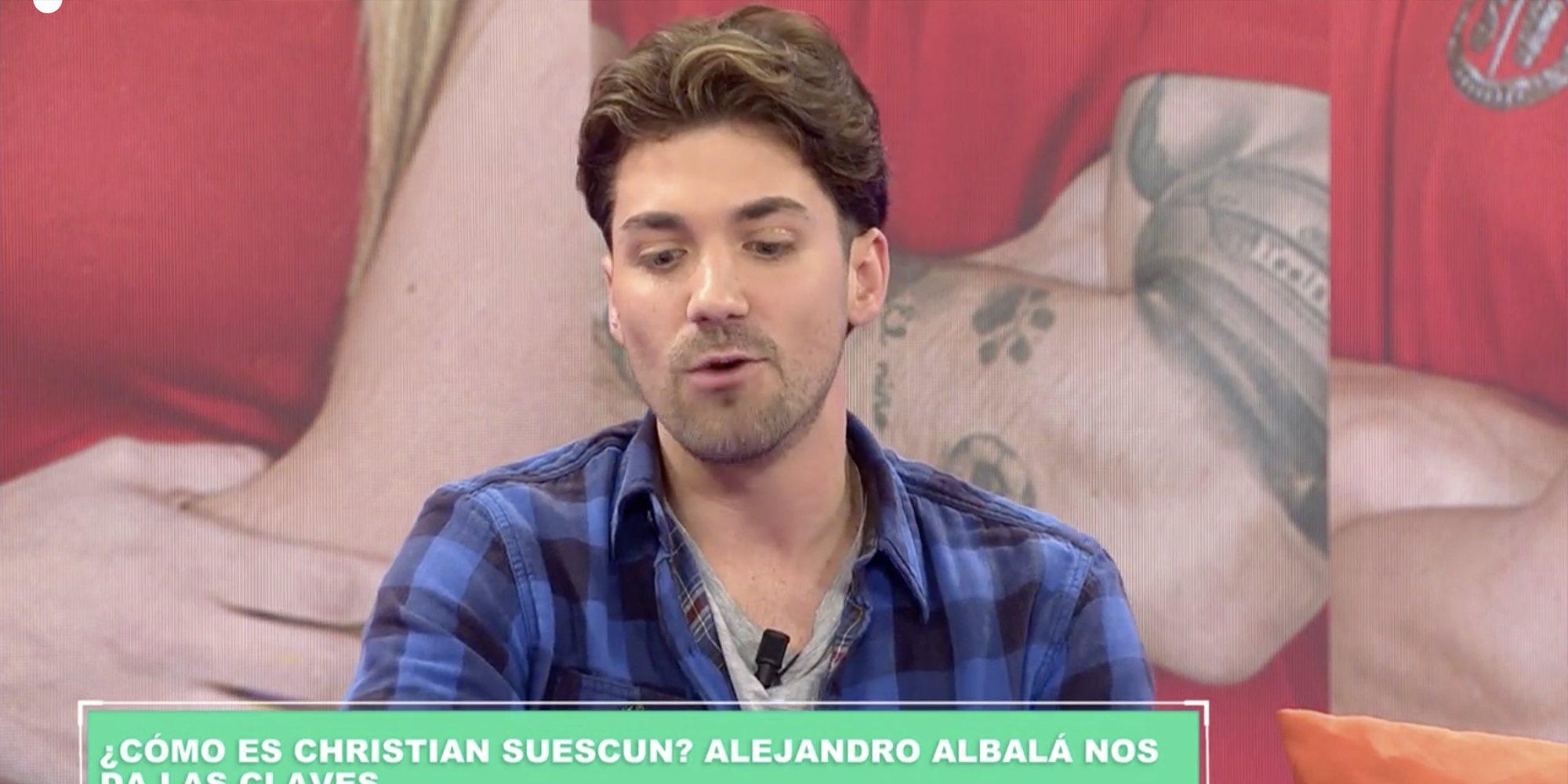 """Alejandro Albalá arremete contra Cristian Suescun: """"La última vez que me habló fue para amenazarme"""""""