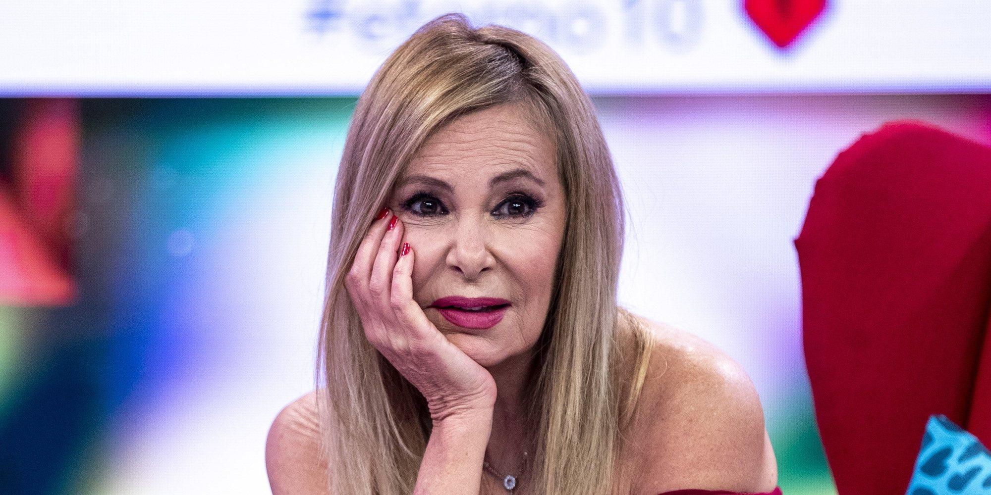 """Ana Obregón aclara el motivo del ingreso de su hijo Álex Lequio: """"Es una gastroenteritis"""""""