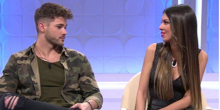 """El tonteo de Andrea e Ismael recordando los comienzos de su relación: """"Fue bonito mientras duró"""""""