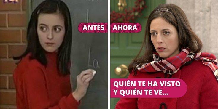 Así ha cambiado Ruth Núñez: De 'Compañeros' y 'Yo soy Bea' a 'Amar es para siempre'