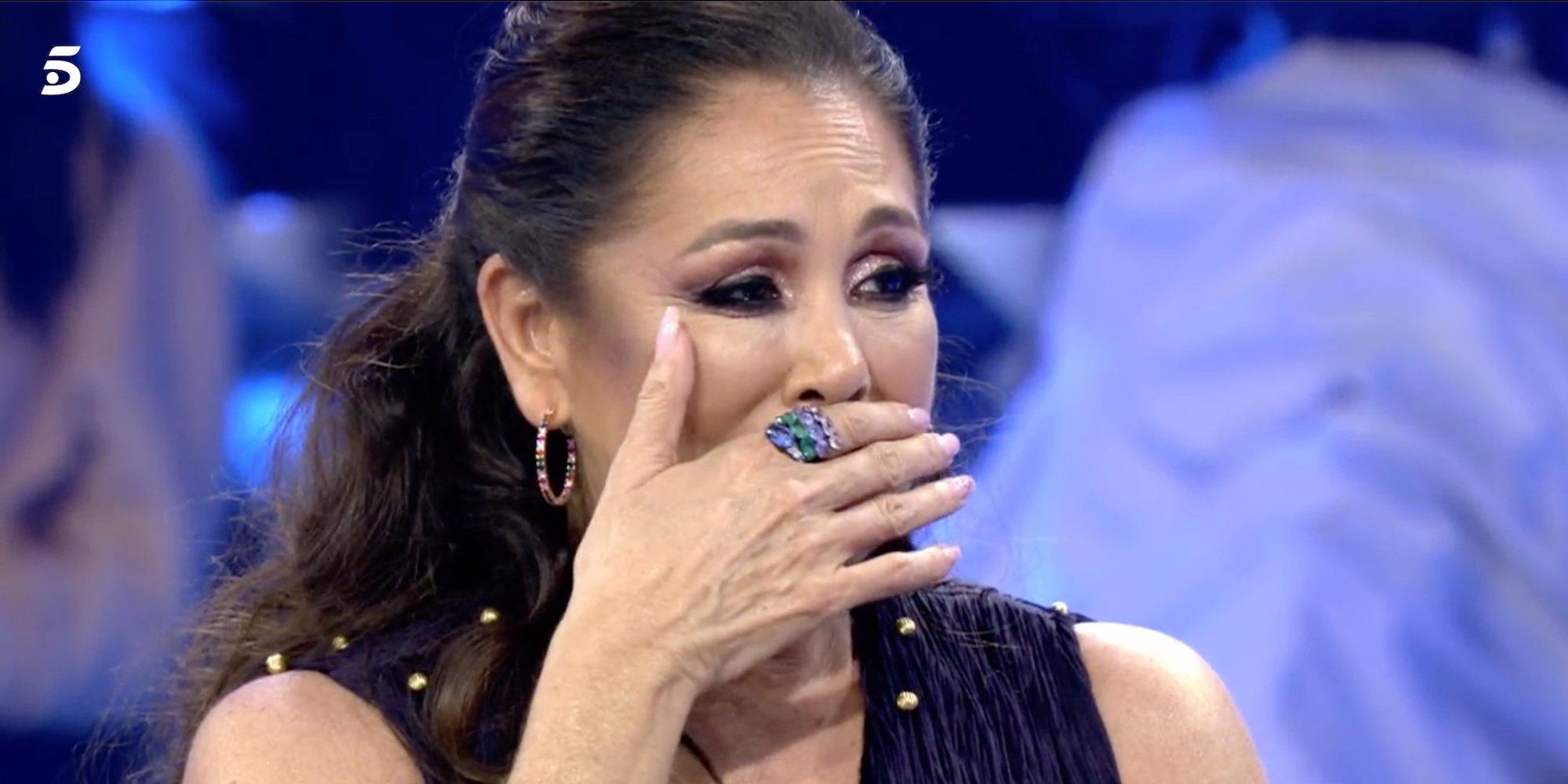 """Isabel Pantoja, emocionada por los mensajes de Kiko Rivera y Chabelita en 'Volverte a ver': """"Ya está todo arreglado"""""""