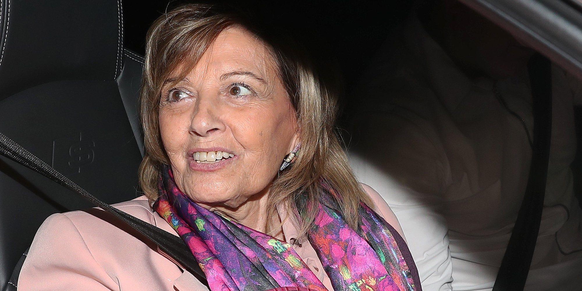 """María Teresa Campos, liberada tras la mudanza de Bigote Arrocet: """"Es un capítulo cerrado"""""""