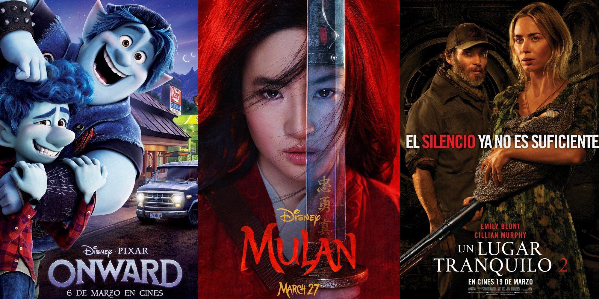 Las 5 películas más esperadas de marzo de 2020