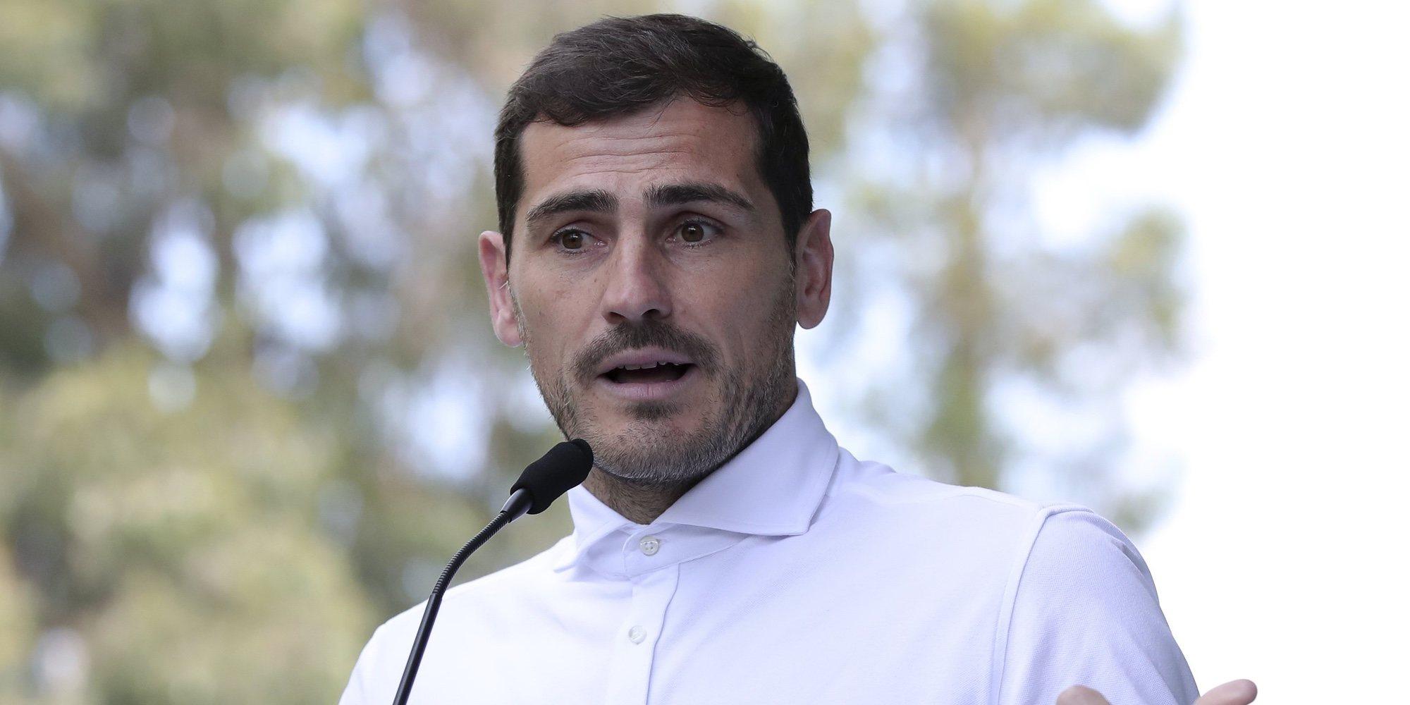 Iker Casillas emite un comunicado tras el registro de su casa de Oporto