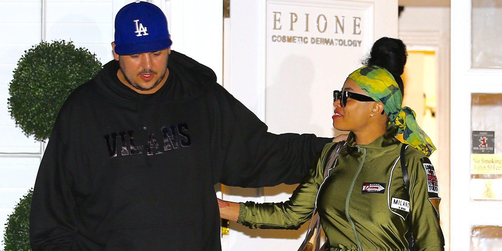 Rob Kardashian retoma su lucha contra Blac Chyna por la custodia de su hija Dream