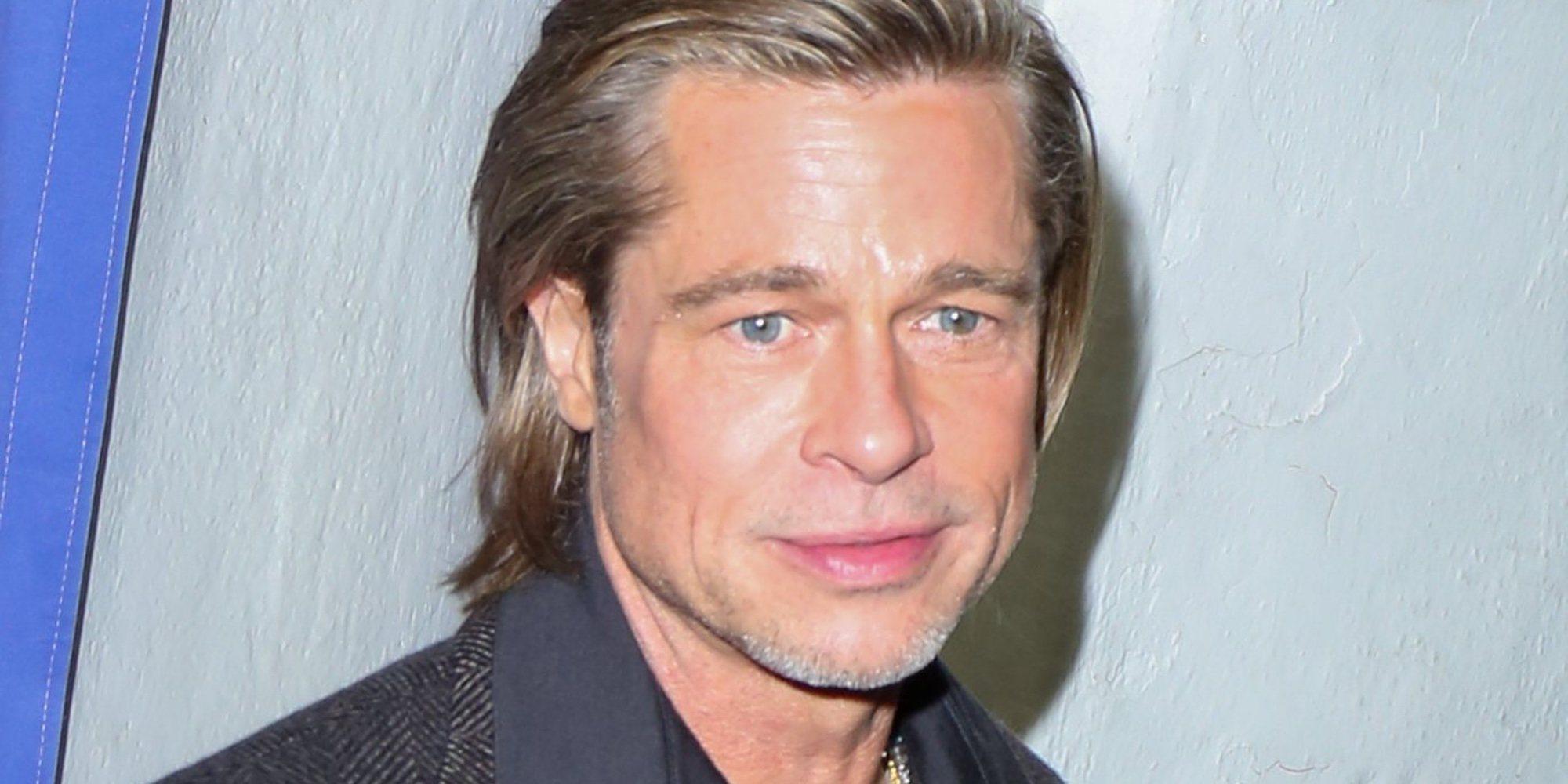 Brad Pitt, pillado con una misteriosa mujer en un concierto