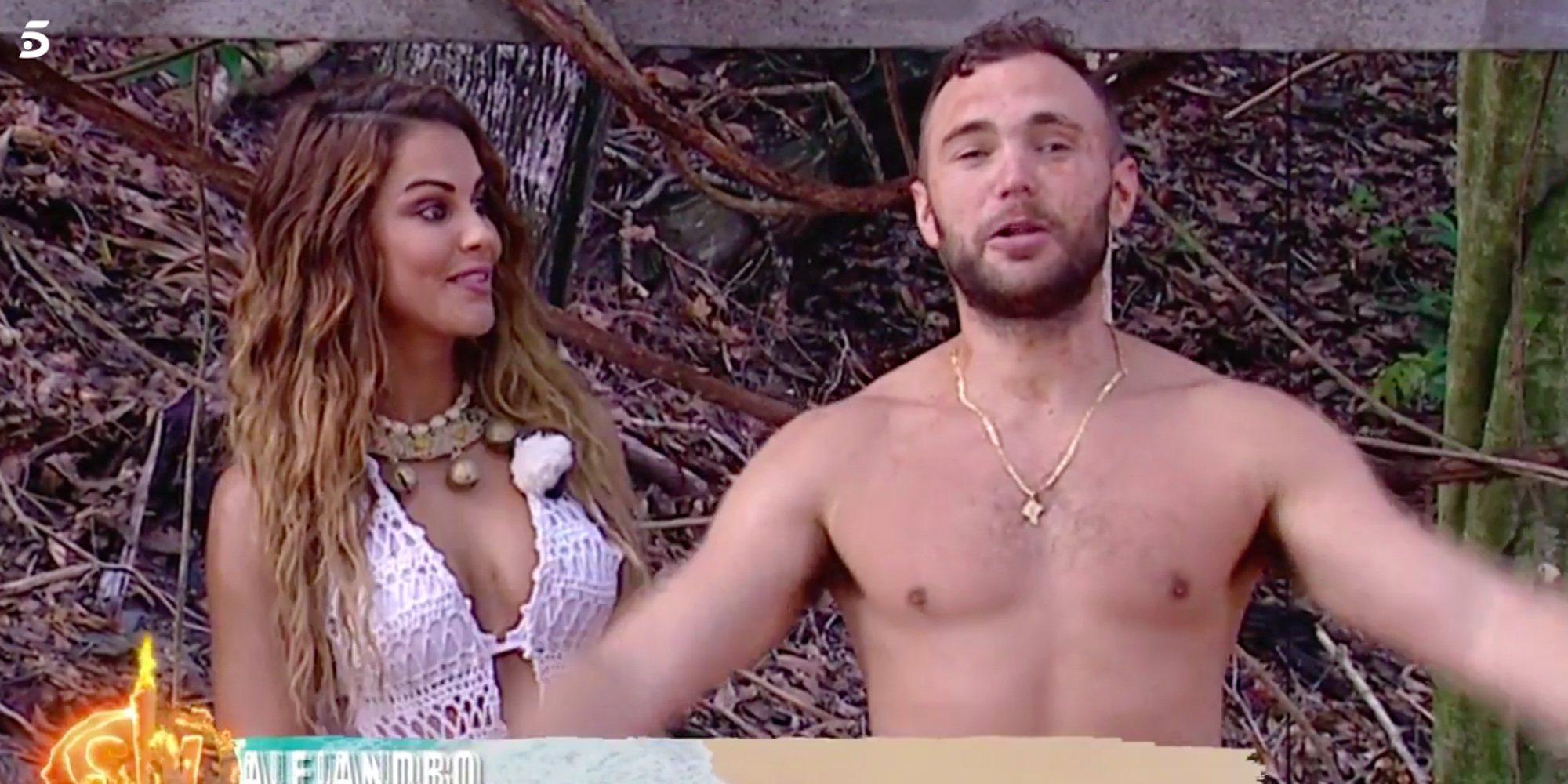 Cristian y Elena se enzarzan en una polémica discusión por un coco en 'Supervivientes 2020'