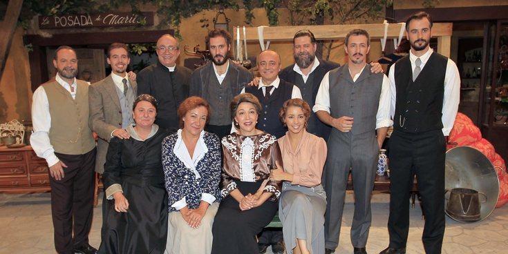 'El secreto de Puente Viejo' prepara su gran final con rostros muy conocidos: Cristina Pedroche, entre otros