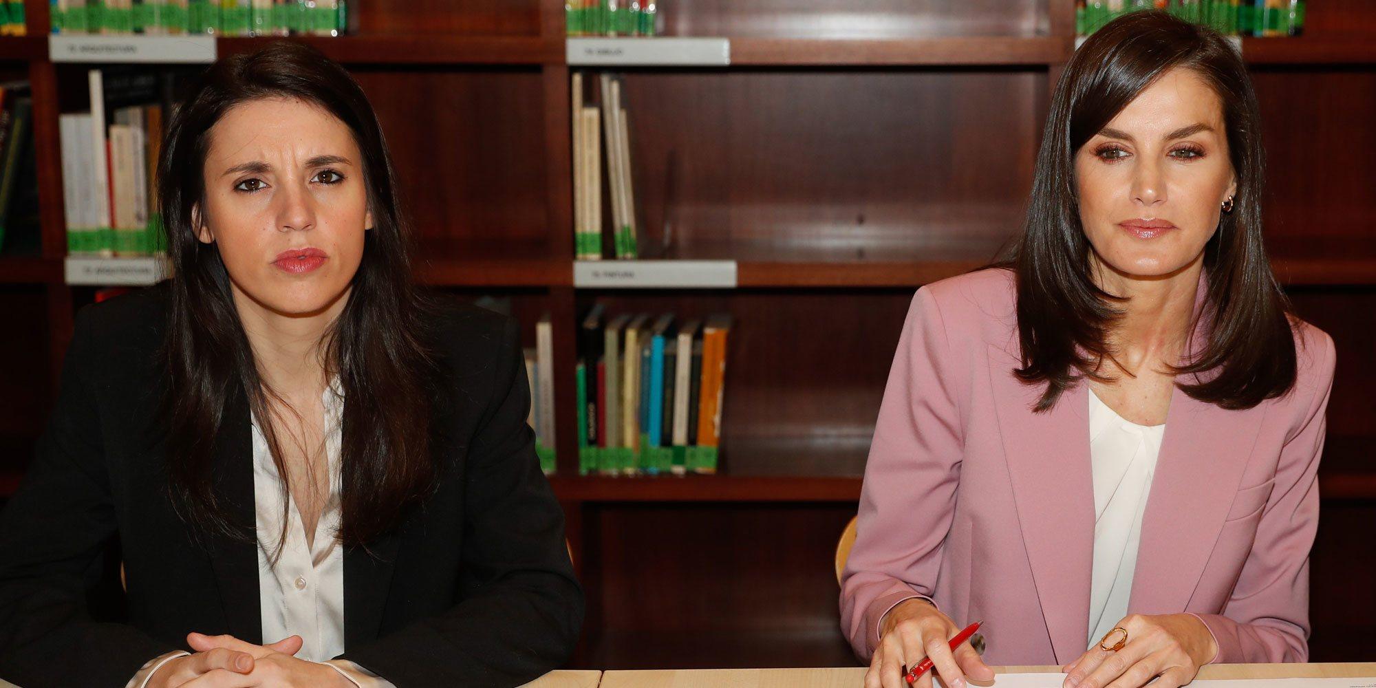 Los pasos de Irene Montero antes de su positivo por coronavirus: encuentro con la Reina Letizia, 8M y Consejo de Ministros