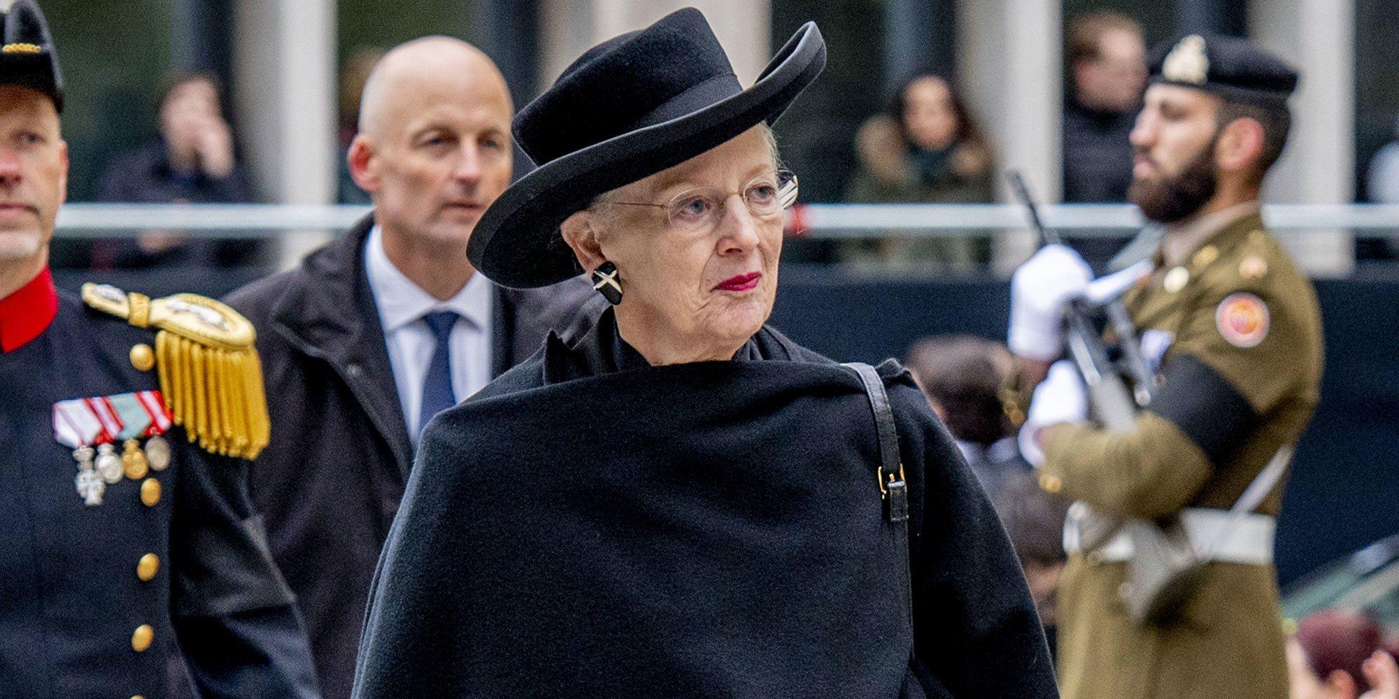 Margarita de Dinamarca cancela los actos por su 80 cumpleaños y se encierra en el Palacio de Fredensborg por el coronavirus