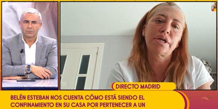 """La confesión de Belén Esteban durante su aislamiento: """"Es la primera vez que he llorado por no ir a trabajar"""""""