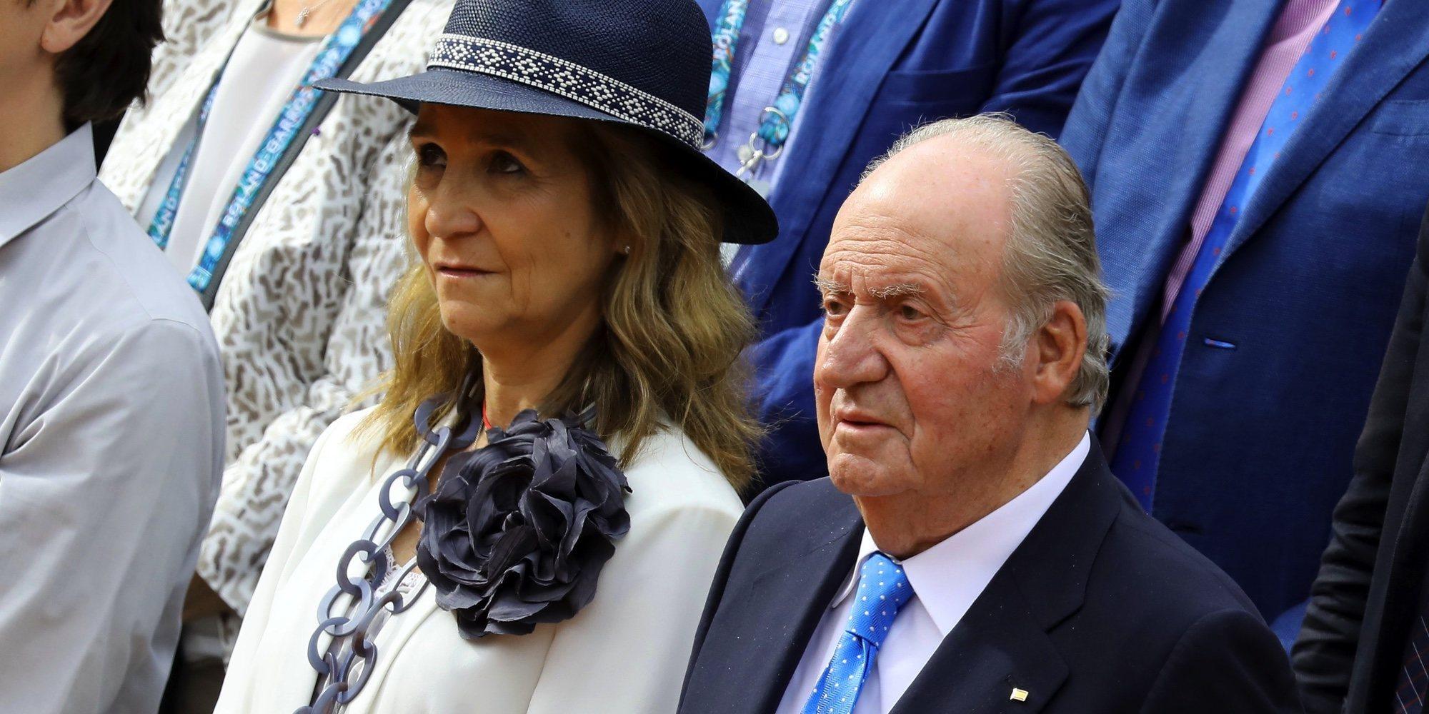 La Infanta Elena, el único apoyo del Rey Juan Carlos tras quedarse sin la asignación de Casa Real