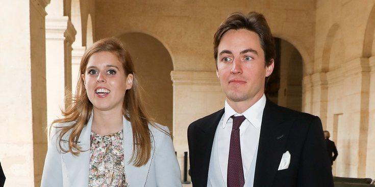 La Princesa Beatriz de York cancela la recepción de su boda con Edoardo Mapelli Mozzi por la crisis del coronavirus