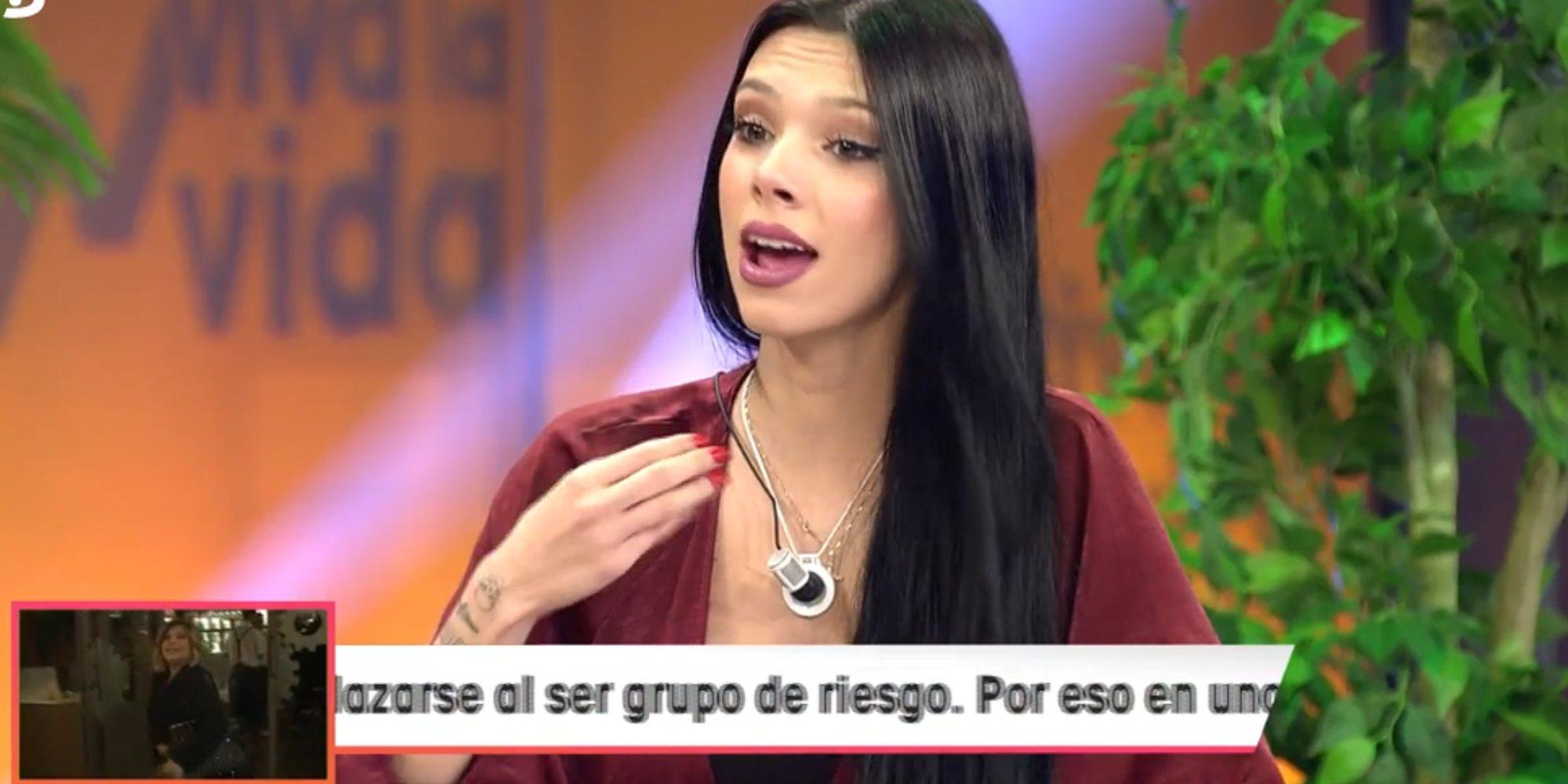 "Alejandra Rubio contra Rocío Flores: ""Alucino con que después de siete años se preocupe por Rocío Carrasco"""