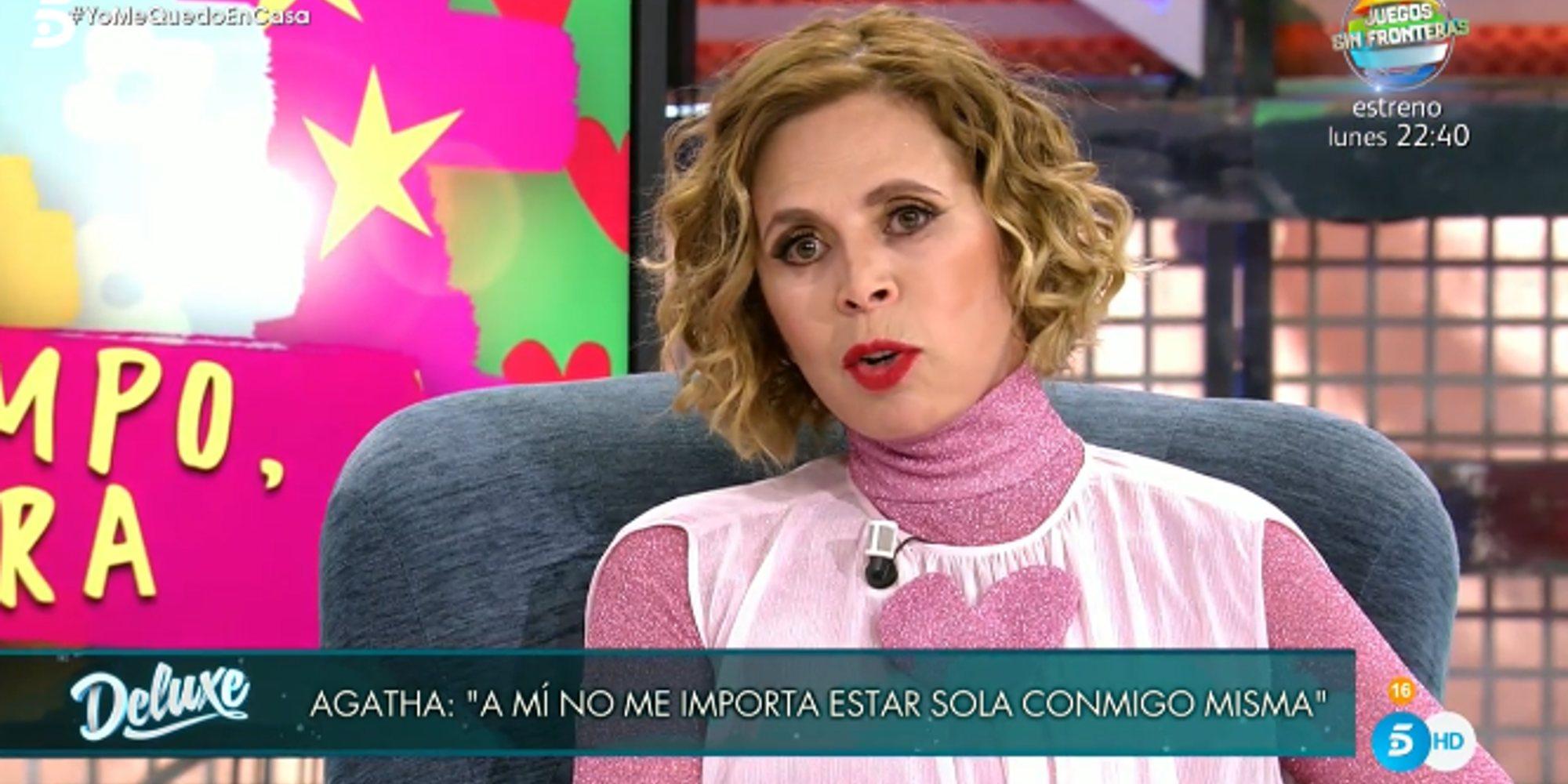 """Ágatha Ruiz de la Prada: """"Que 'El Chatarrero' hubiera estado con Carmen Martínez Bordiú me dio seguridad"""""""