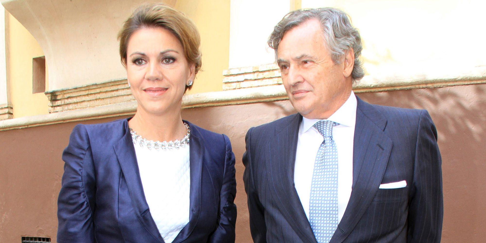 María Dolores de Cospedal y su marido, aislados en casa tras dar positivo en coronavirus
