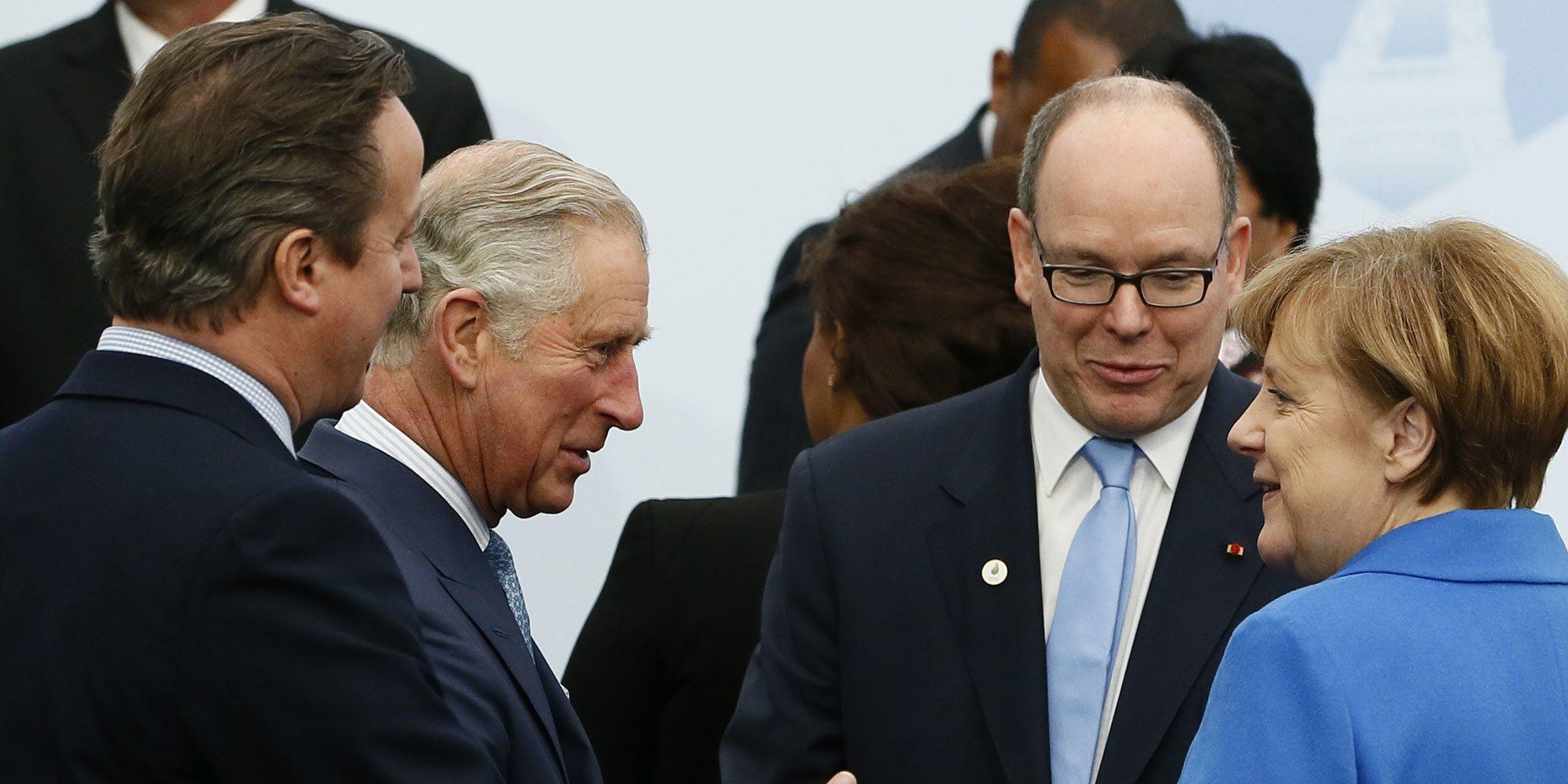 El Príncipe Carlos de Inglaterra estuvo muy cerca del Príncipe Alberto de Mónaco antes de dar positivo por coronavirus