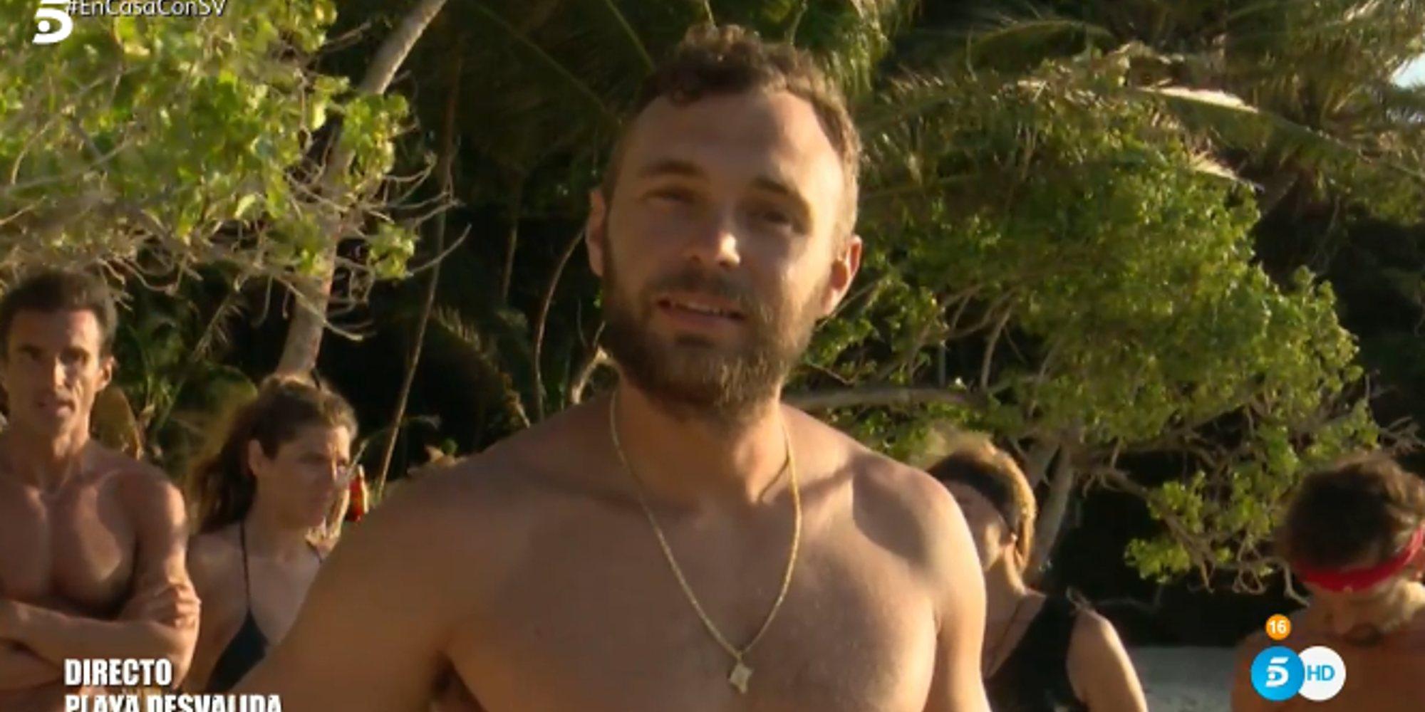 Cristian Suescun, cuarto expulsado definitivo de 'Supervivientes 2020'