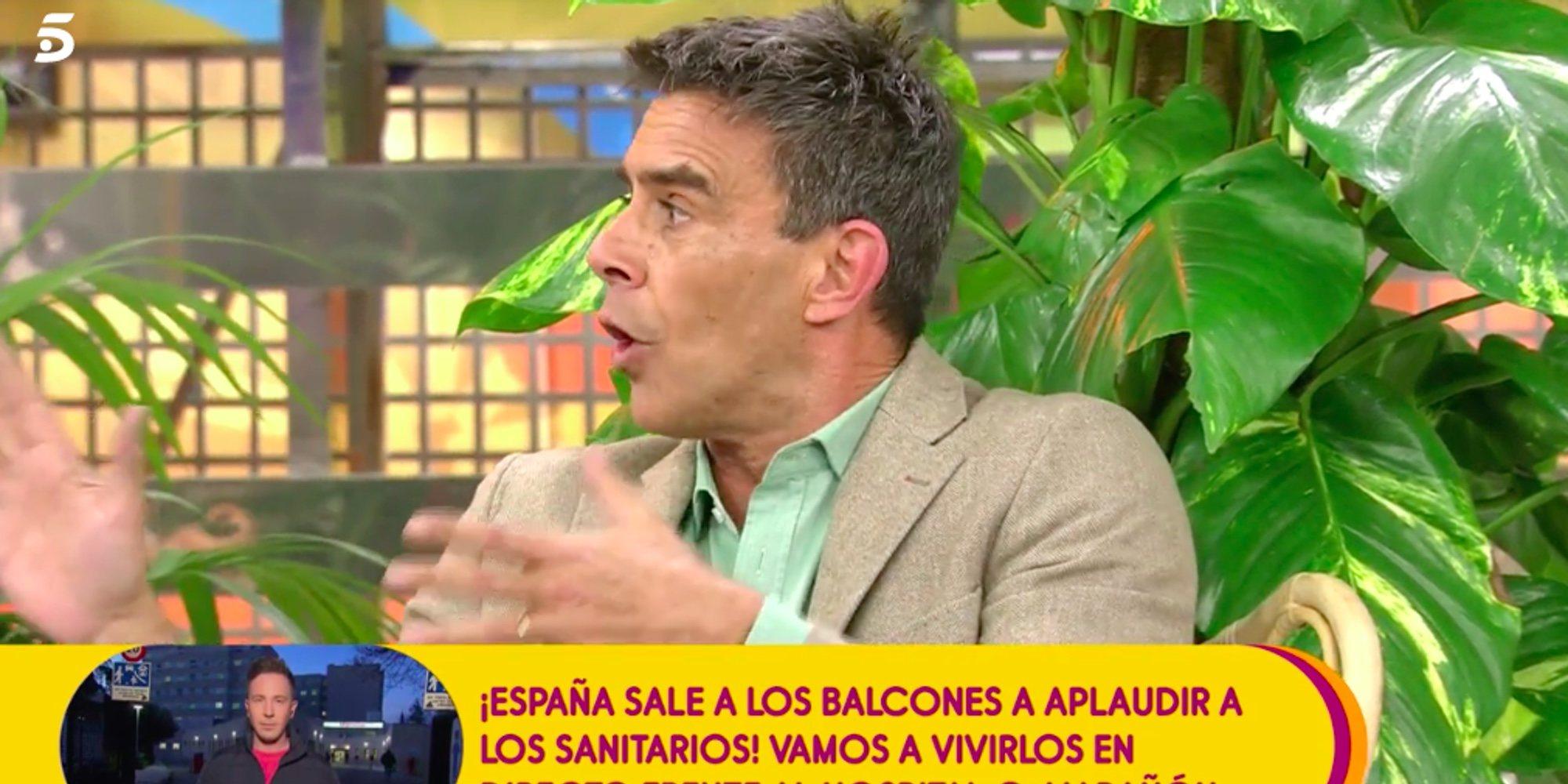 """Alonso Caparrós arremete contra Antonio David: """"Me alucinan los malos pensamientos que albergas"""""""